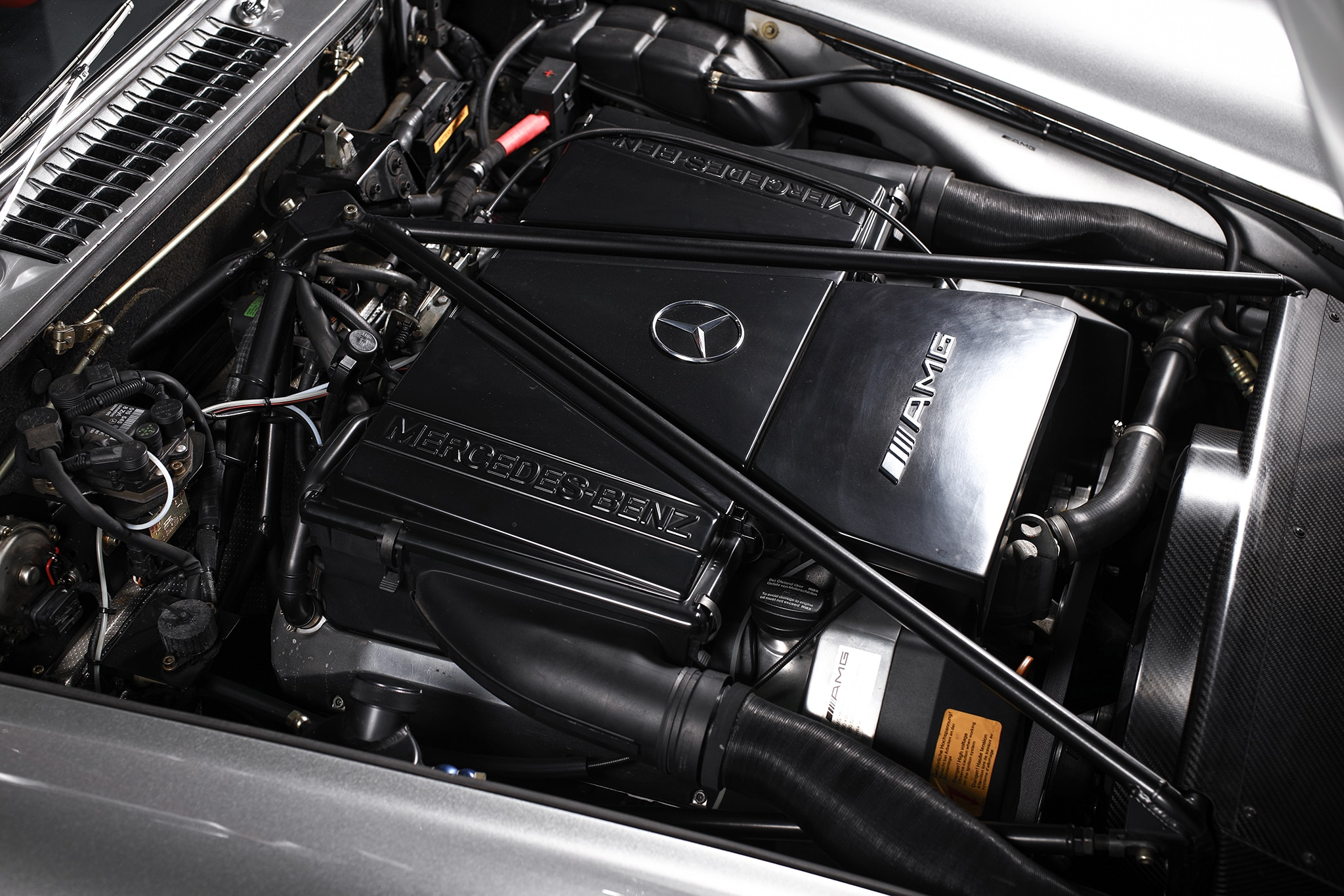 This 1955 Mercedes-Benz 300SL Modified by AMG Is Heresy | Automobile