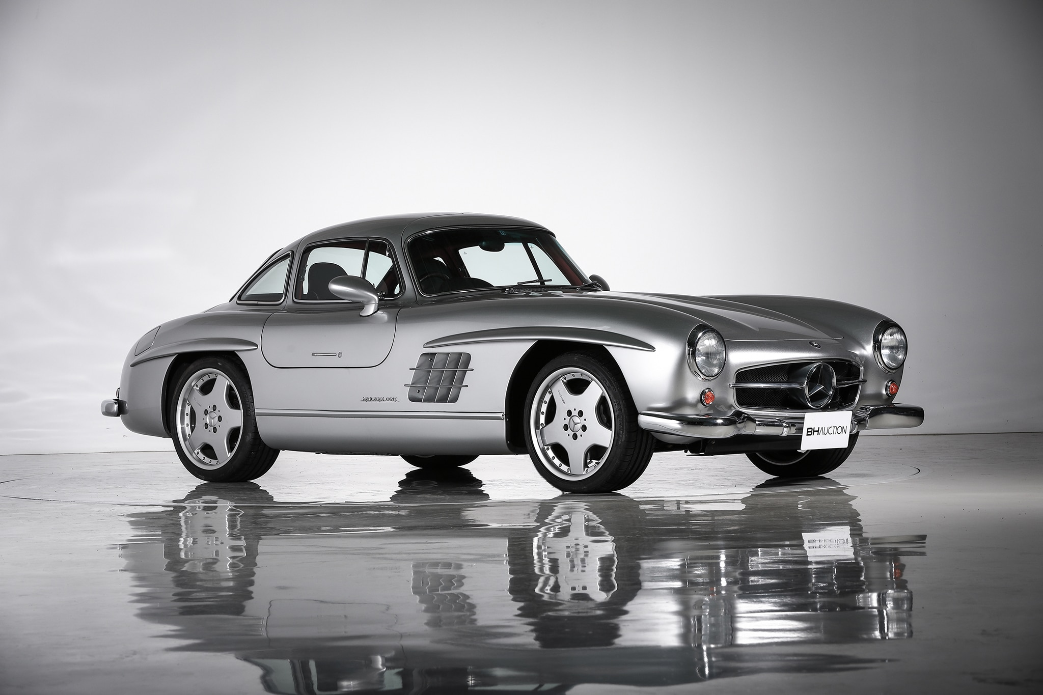 1955 Mercedes Benz 300SL AMG BH Auction Front Three Quarters