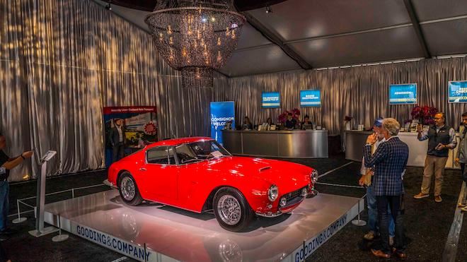 1963 Ferrari 250gt Swb Front Three Quarter