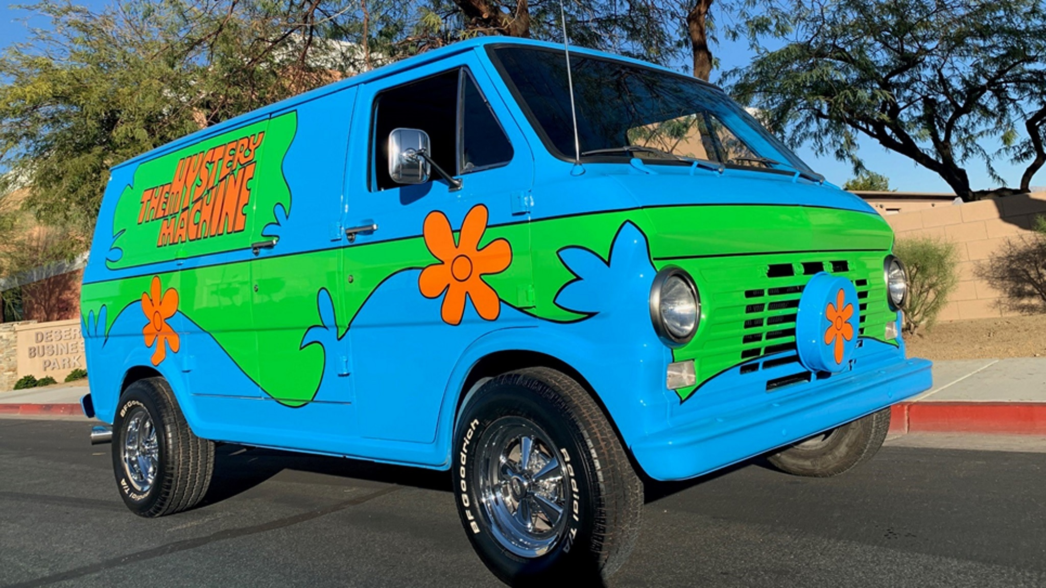 1968 Ford Econoline Van The Mystery Machine Front Three Quarter