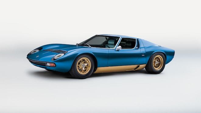 1971 Lamborghini Miura SV 12