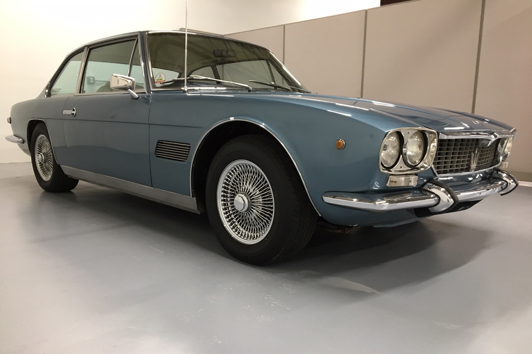 1971 Maserati Mexico Just Listed Front Three Quarters