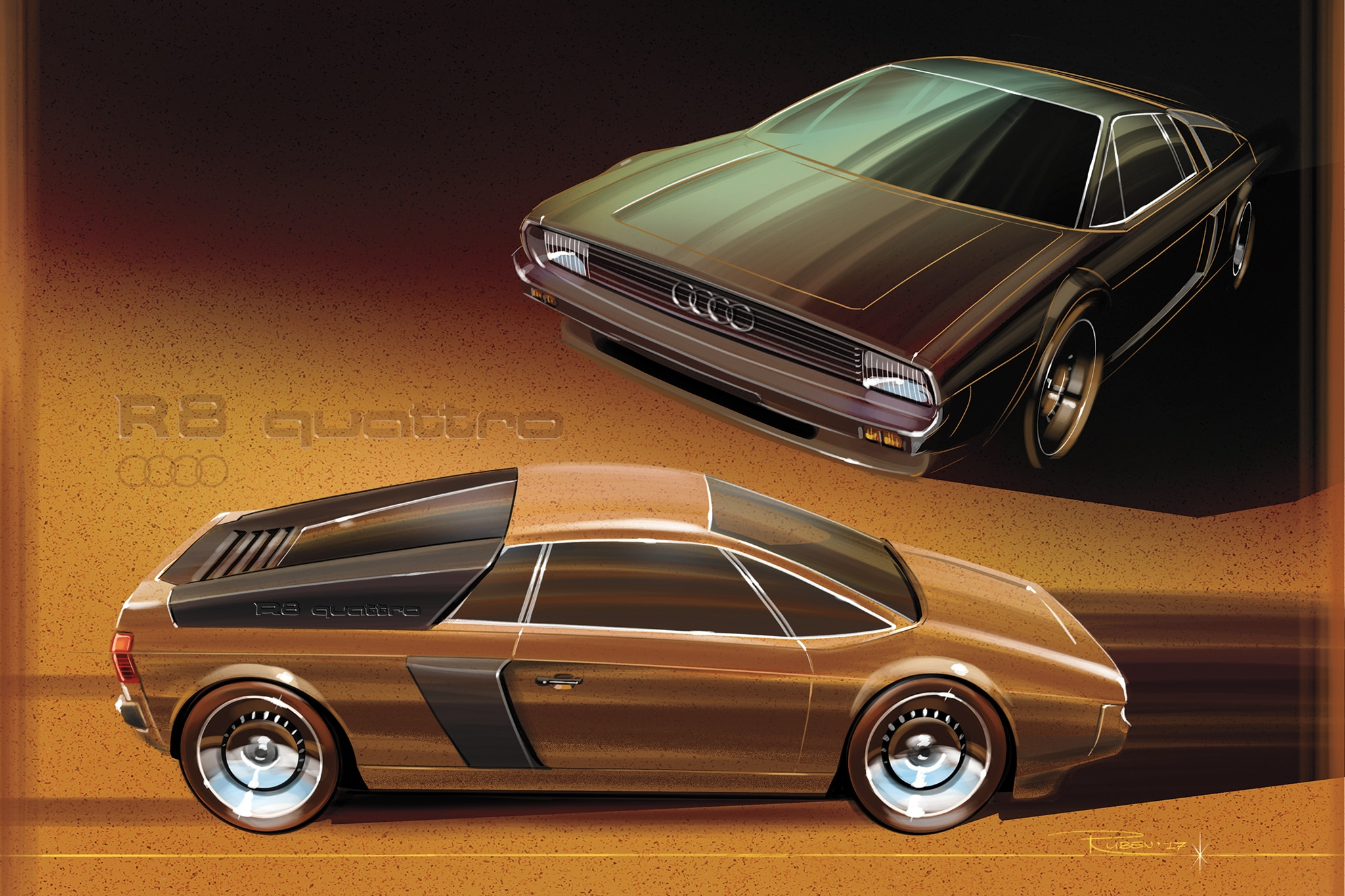 What If Today S Cars Were Designed Decades Ago