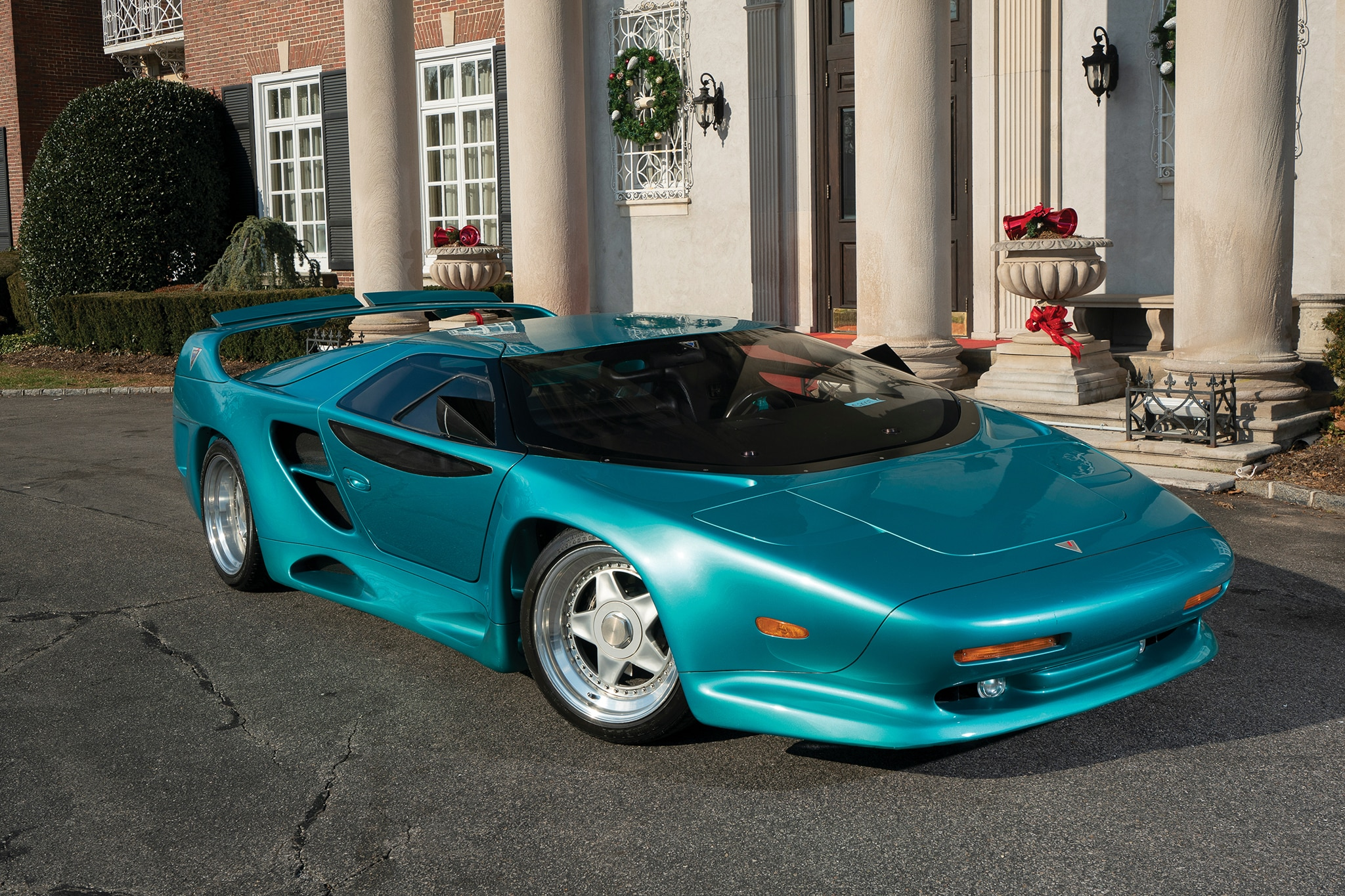 1993 Vector Avtech WX 3 RM Sothebys Front Three Quarters