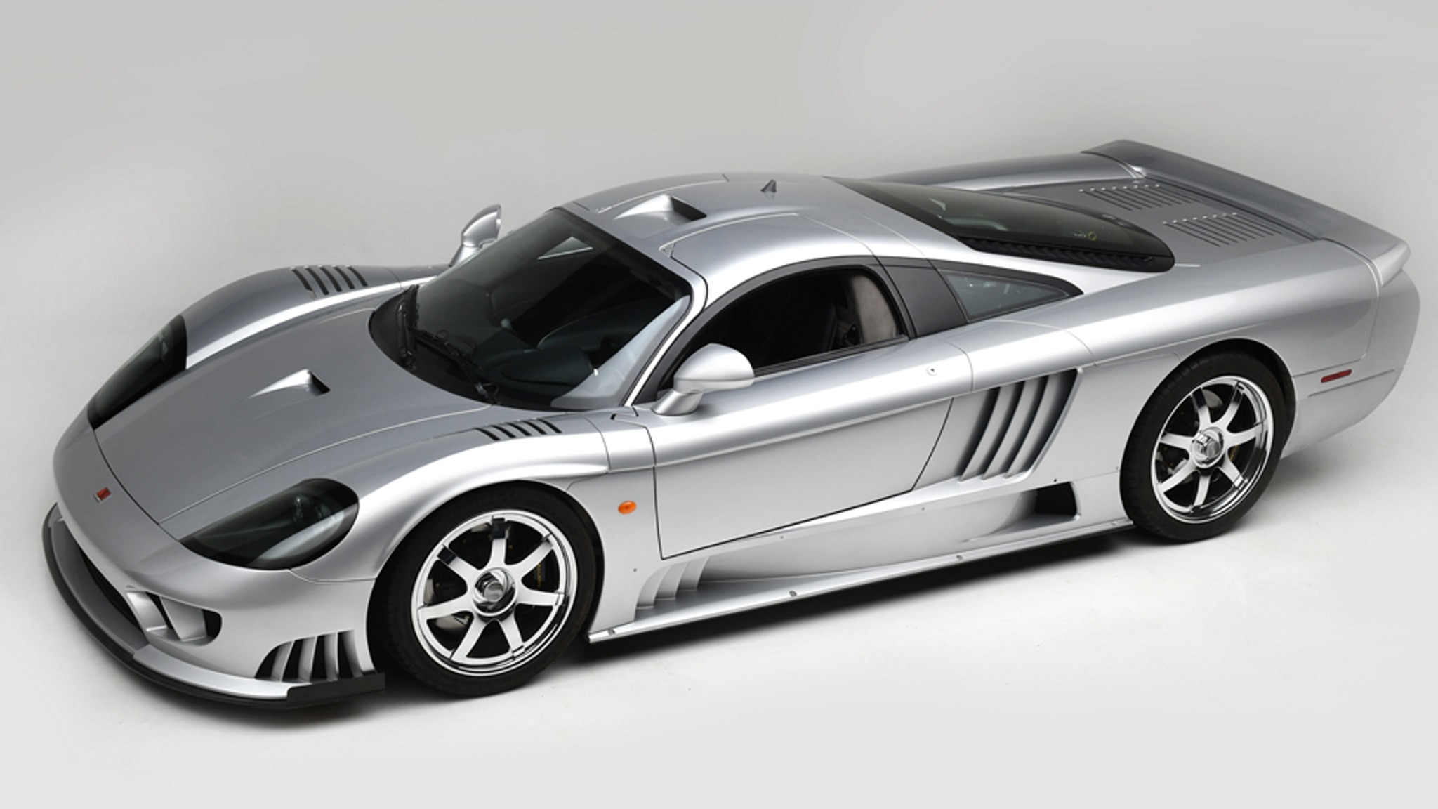 2005 Saleen S7 Twin Turbo Front Three Quarter Overhead