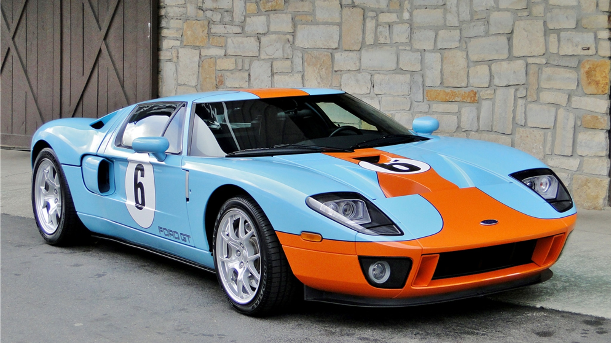 If You Prefer Closed Ford Gts There Are Plenty To Choose From If Youre A Fan Of The Heritage Edition Cars Done Up In The Blue And Orange Gulf Inspired