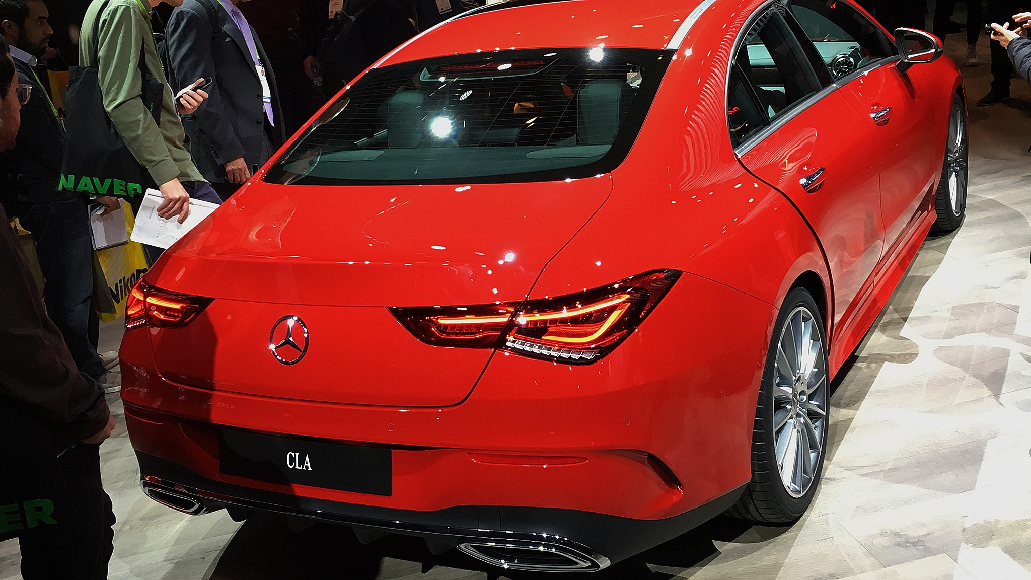 2010 Mercedes Benz Cla Rear 2019 Ces