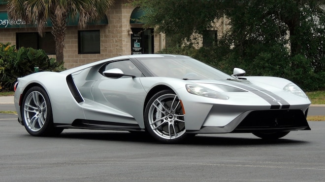 2017 Ford Gt Front Three Quarter View