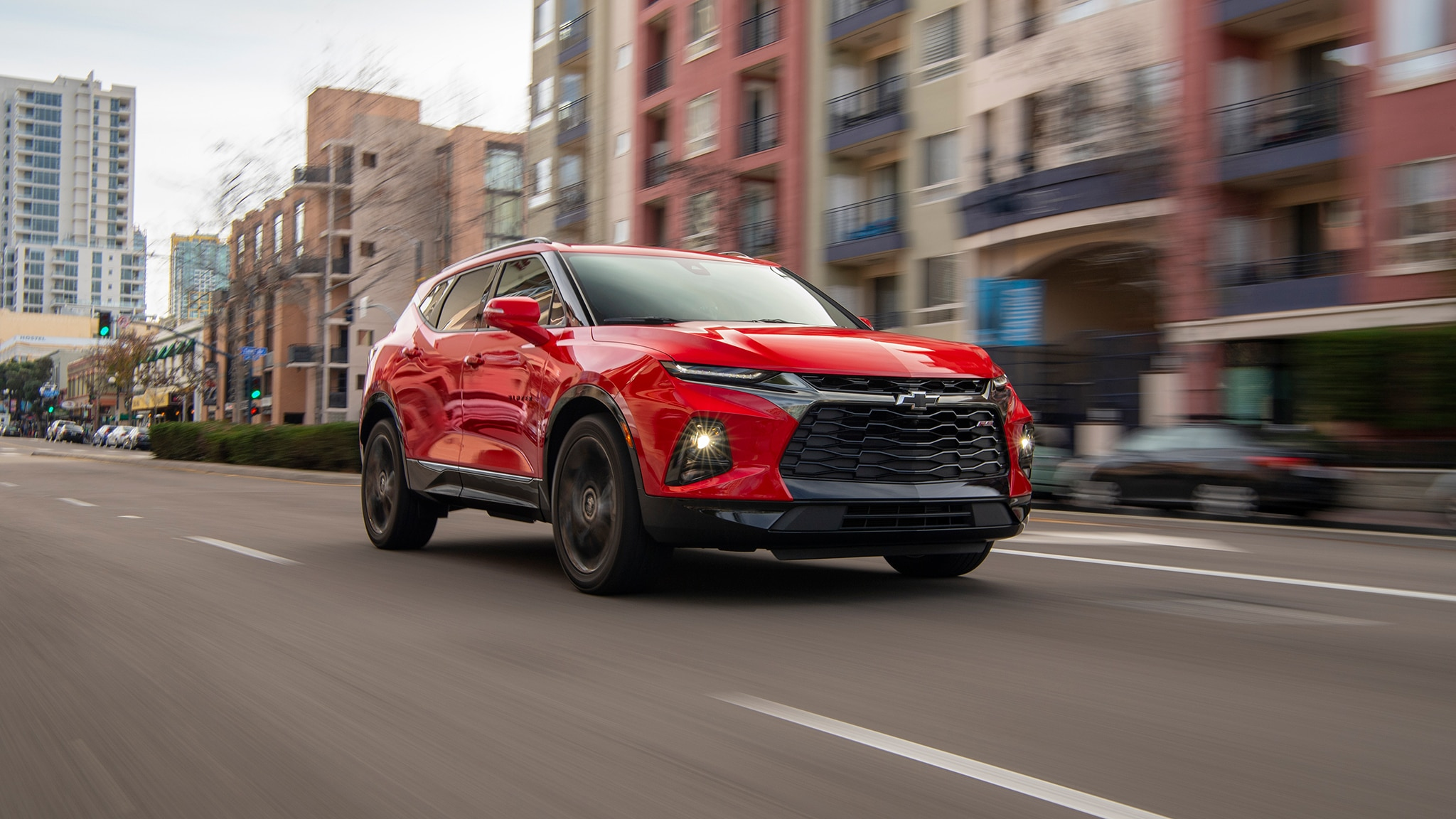 Report The Chevy Blazer Will Get A Three Row Variant Next Year