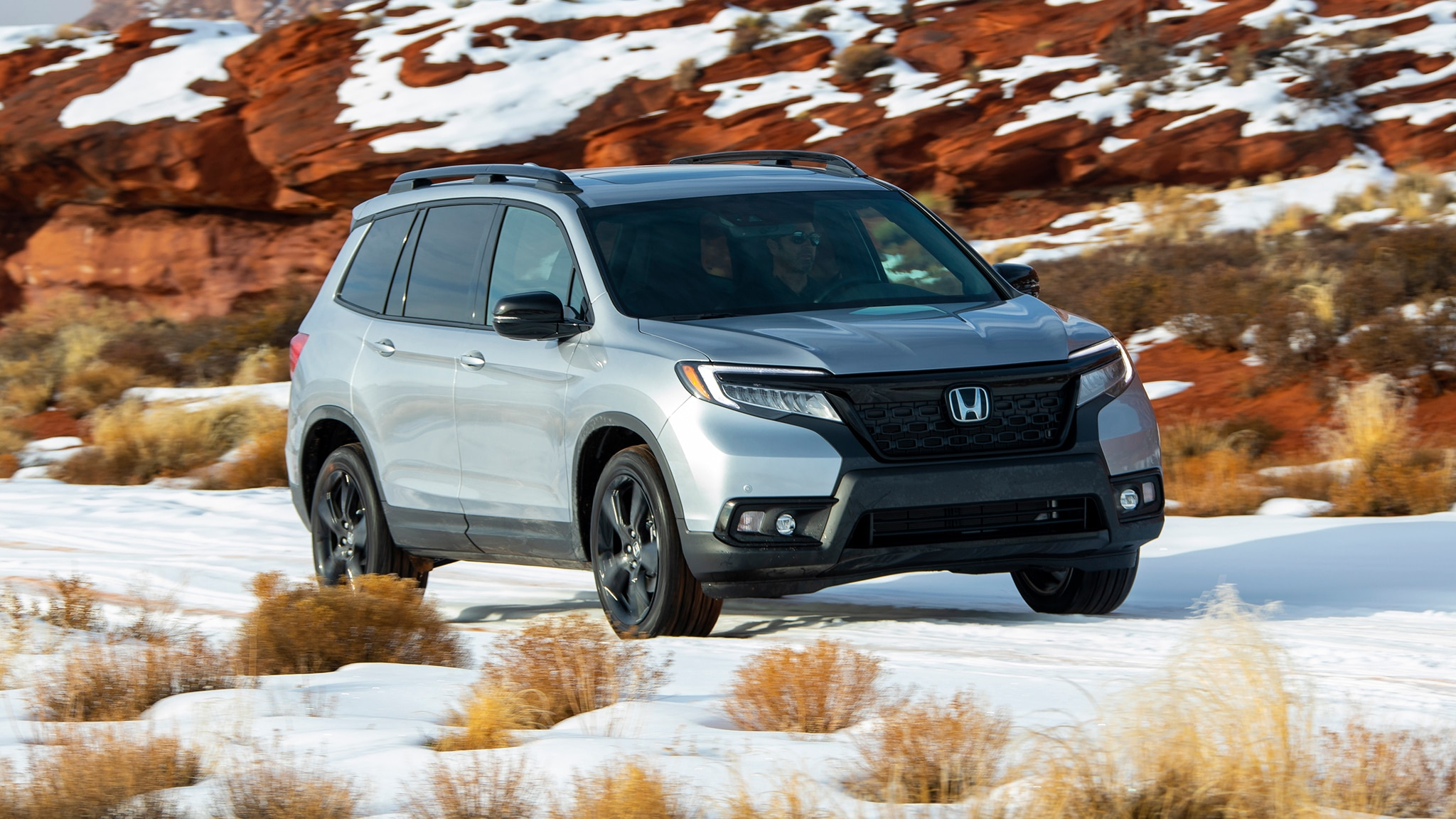Honda Passport Front Three Quarter In Motion