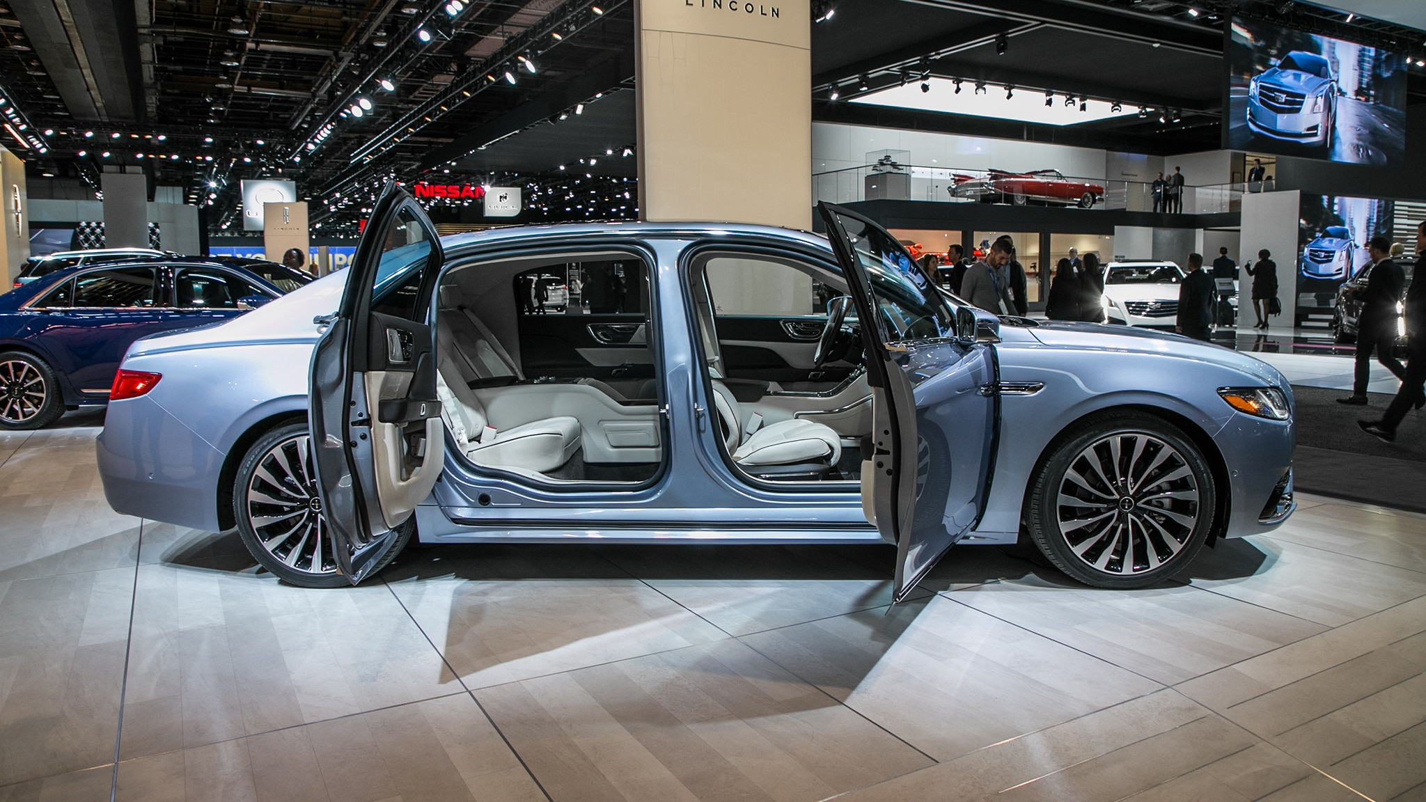 We've Got Bad News About The 2019 Lincoln Continental Coach Door Edition