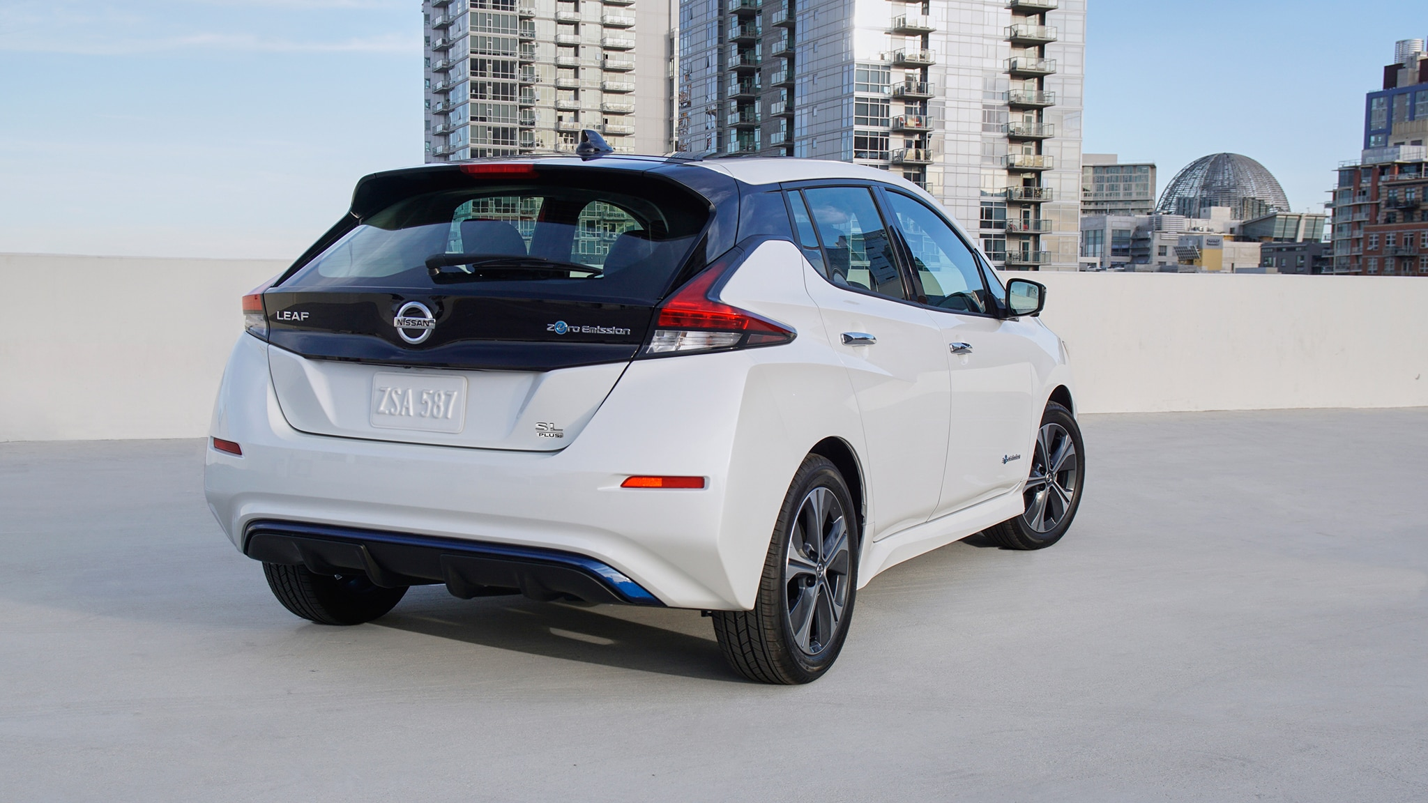2019 Nissan Leaf Plus: 226 Miles of Range, More Power ...