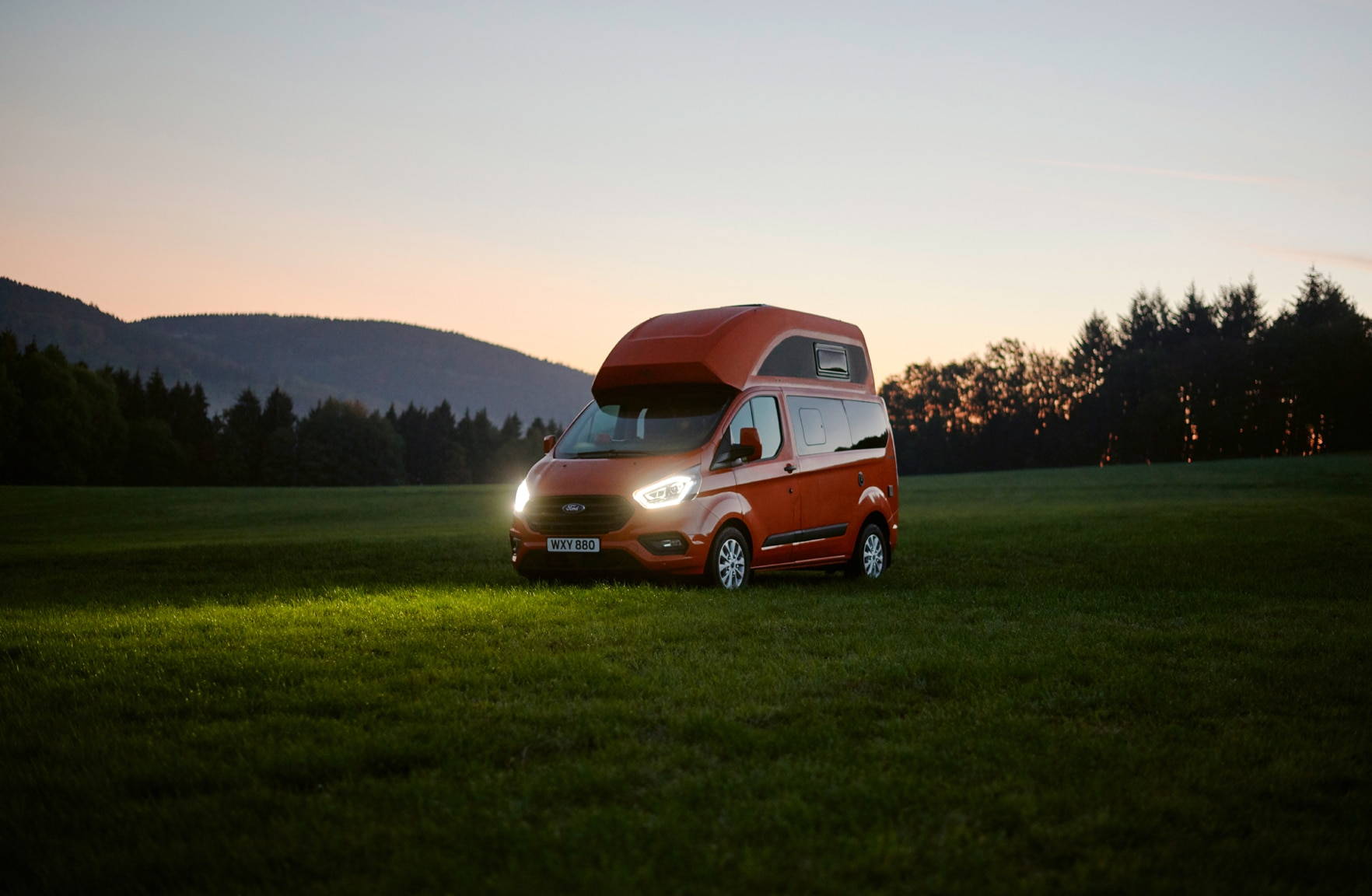 Ford Transit Custom Nugget Camper Is Really Neat