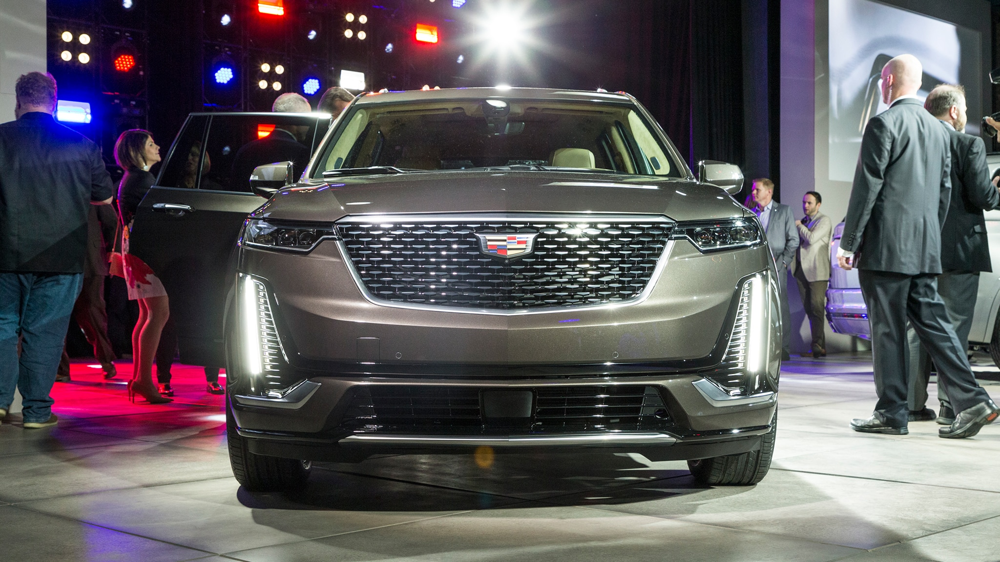 2020 Cadillac XT6 Reveal Front View