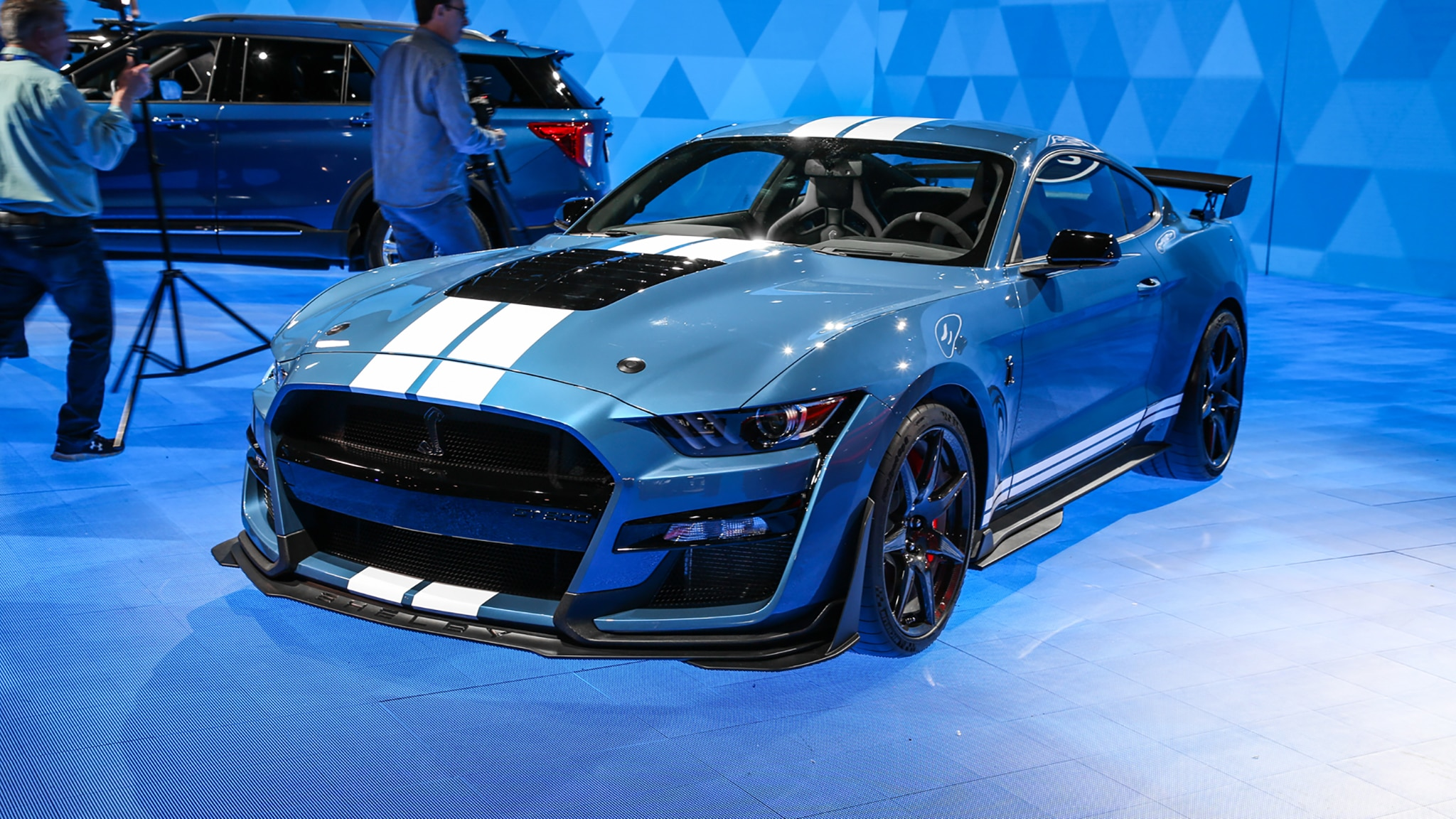 First 2020 ford mustang shelby gt500 sells for 1 1 million
