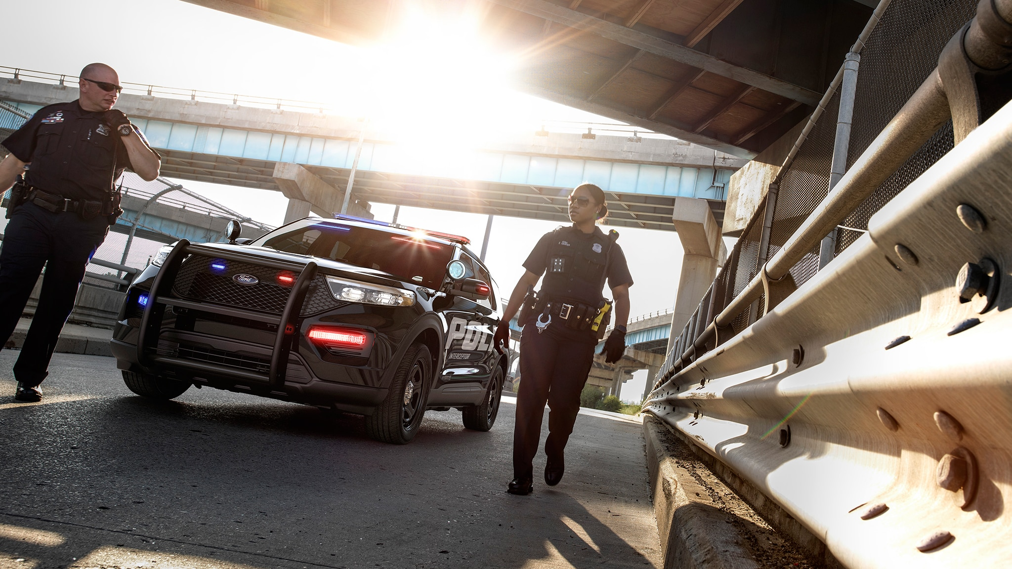 Ford Police Interceptor Utility Is Lean, Mean, and Green