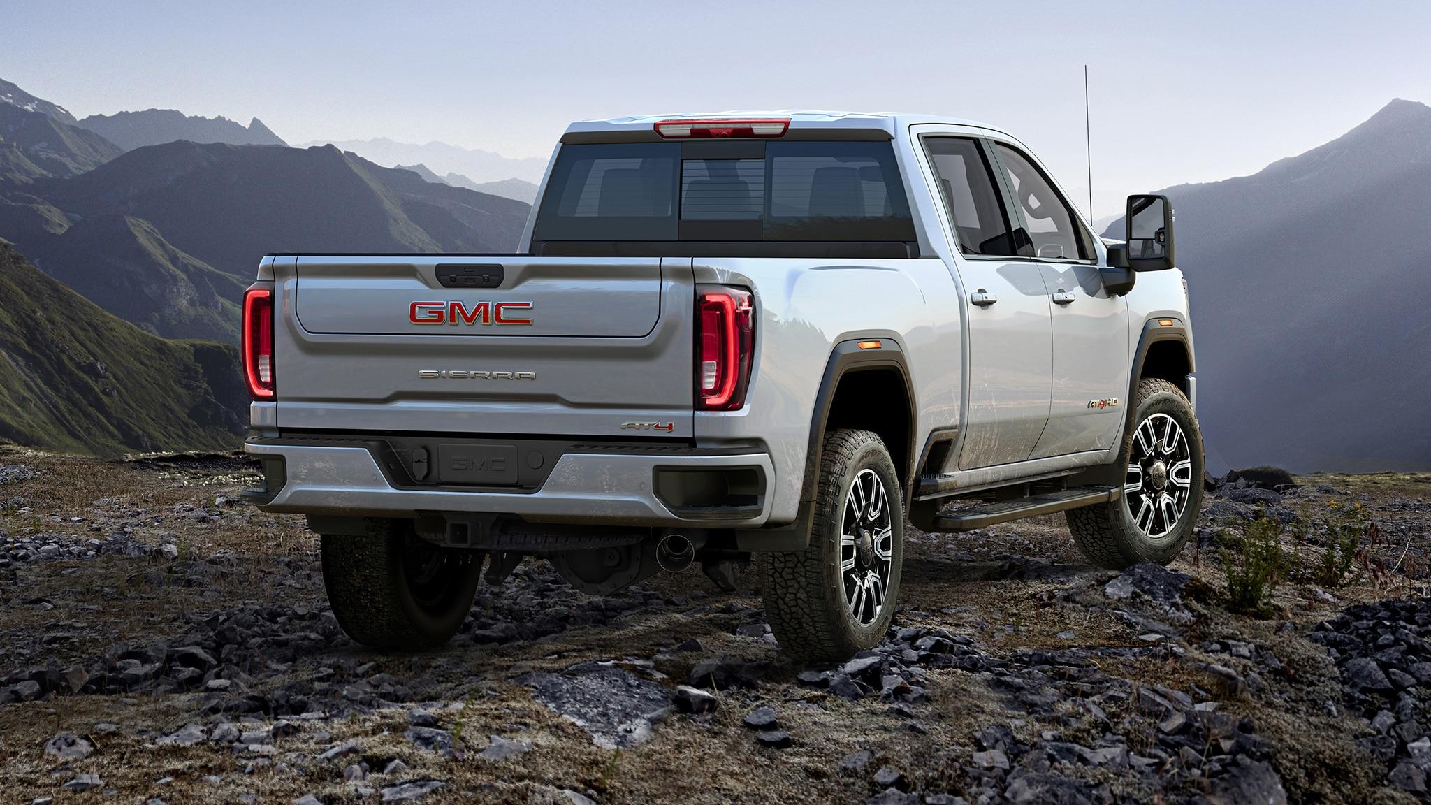 gmc sierra hd debuts huge grille huge capability automobile magazine