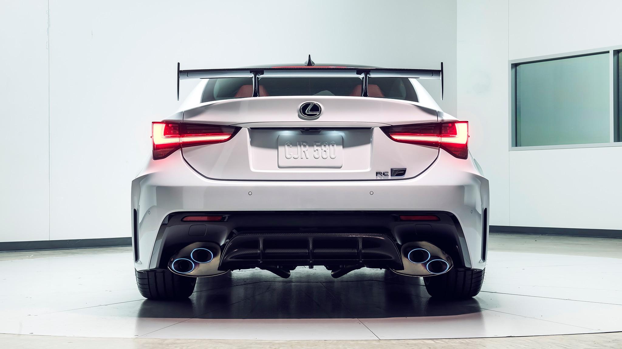 The Lexus Rc F Track Edition Is The Hardest Core Lexus Since The Lfa