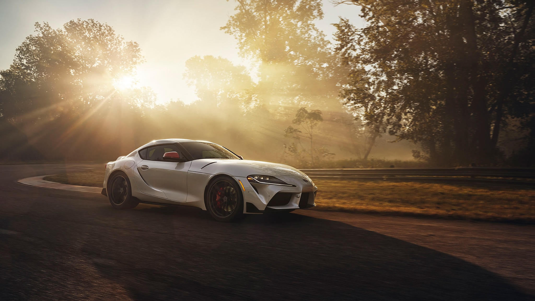 How To Do A Burnout In An Automatic >> Watch the 2020 Toyota Supra Do a Righteous Burnout | Car ...