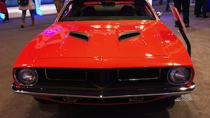 73 Plymouth Cuda Grille 2019 Ces