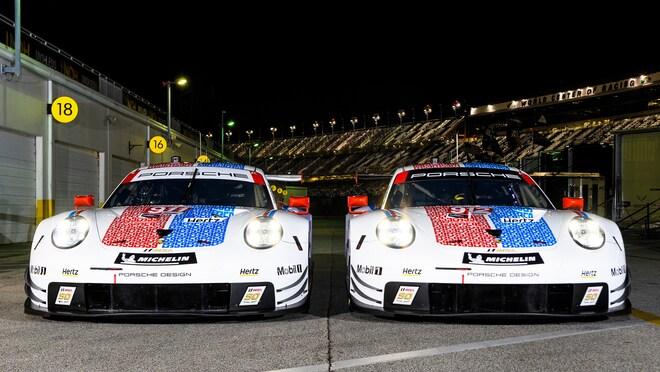 Porsche Debuts Sweet Brumos Liveries for Daytona