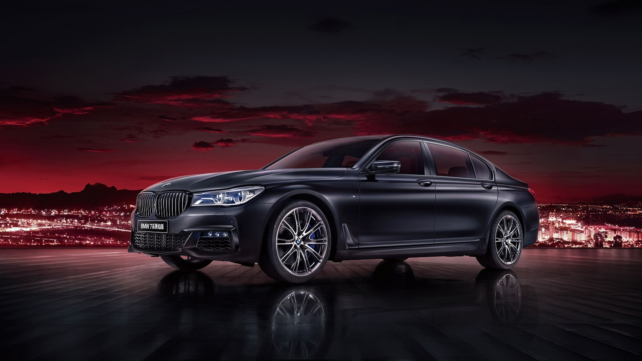 BMW 7 Series Black Flame Edition