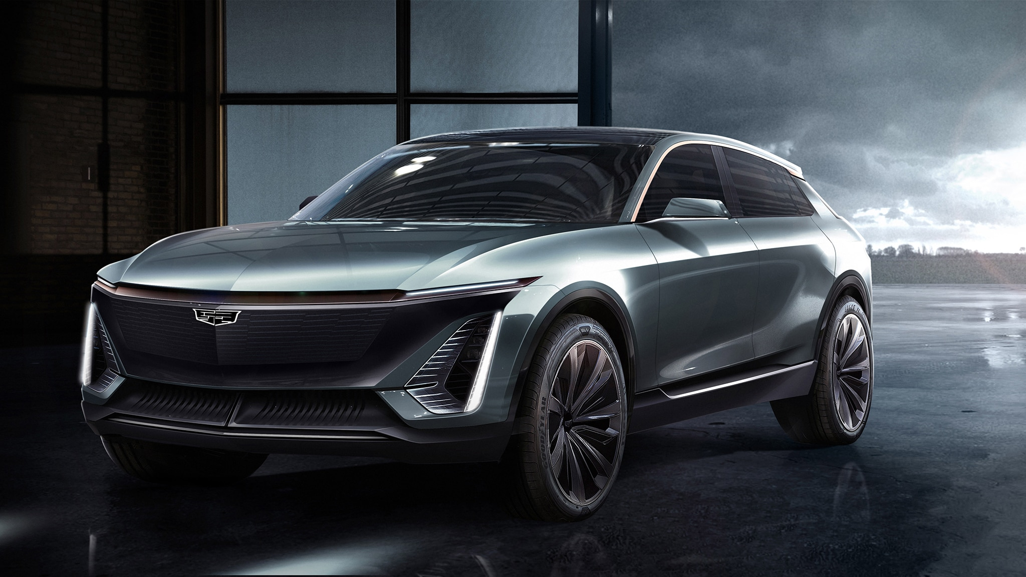 Colossal Cadillac Suv Ev Teased For 2022 Automobile
