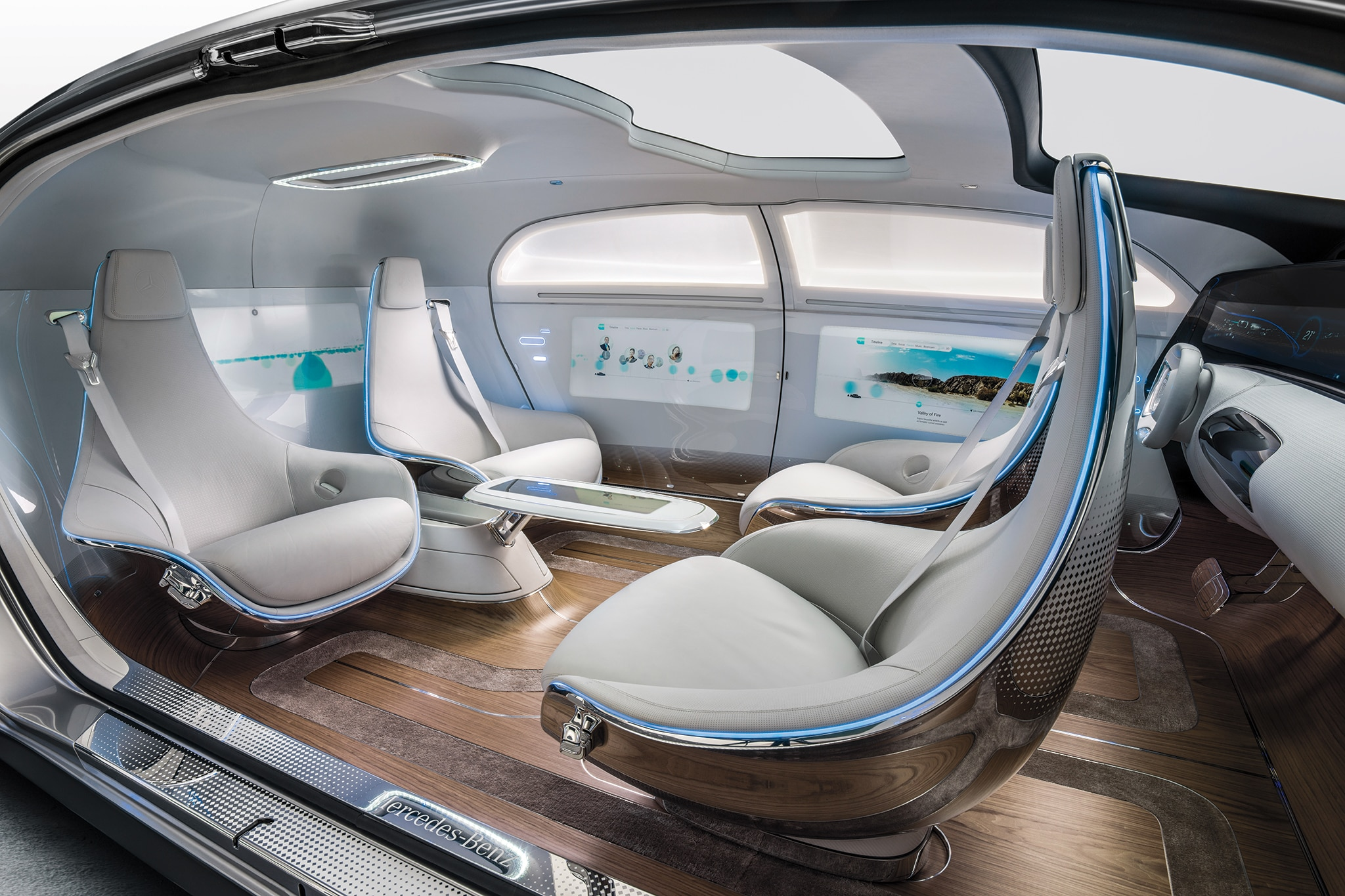 Astounding Inside The Cocoon What To Expect From Automated Vehicle Interior Design Ideas Tzicisoteloinfo