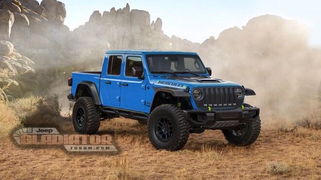 Jeep Gladiator Hercules Blue Jeepgladiatorforum