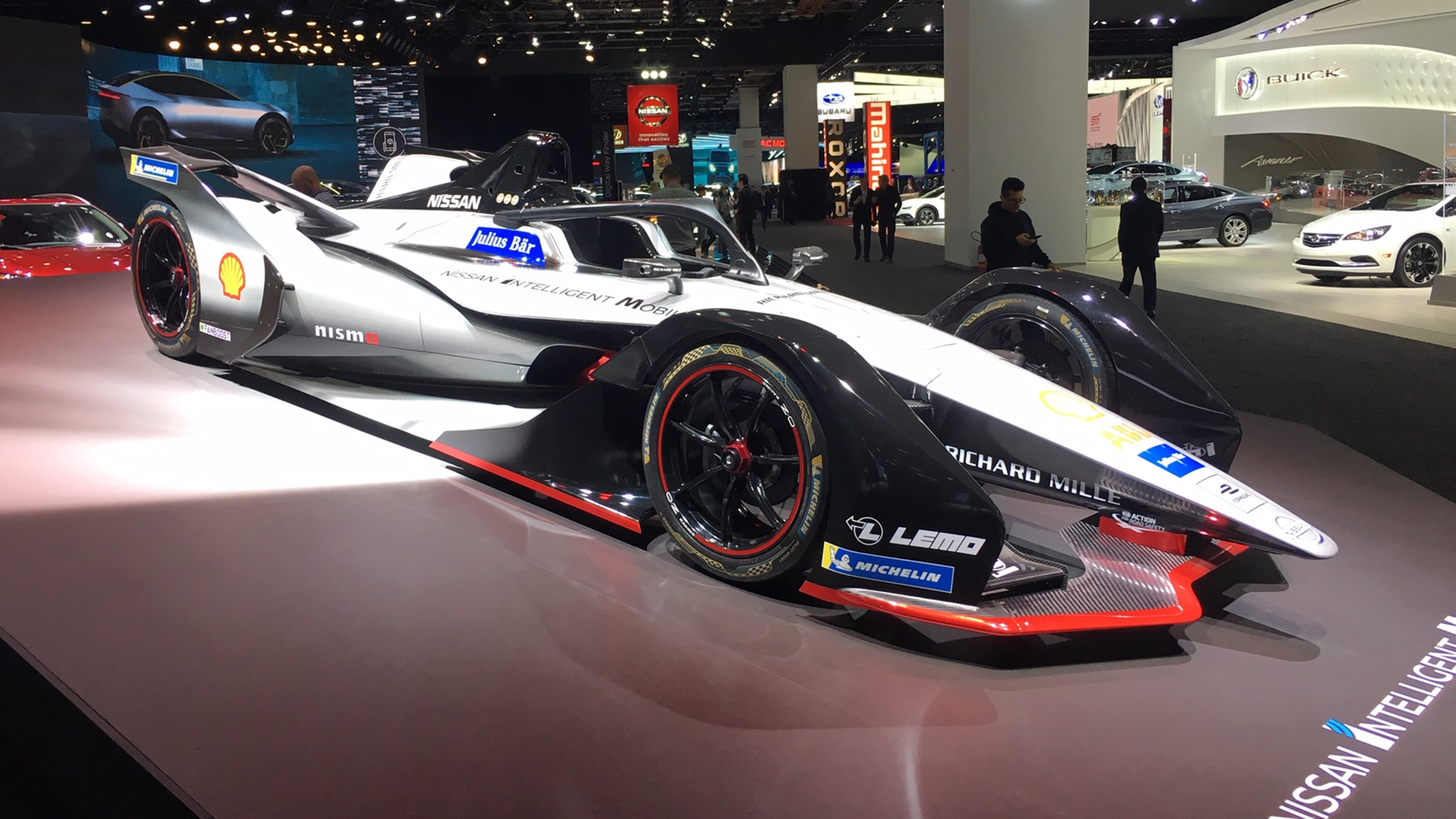 The Race Cars Of The 2019 Detroit Auto Show Automobile