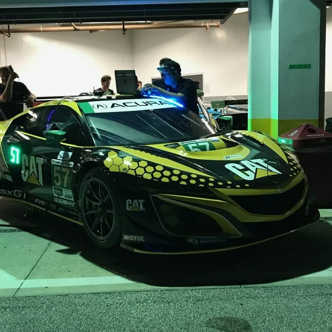 Acura NSX GT3 Gets Evo Updates At The Rolex 24