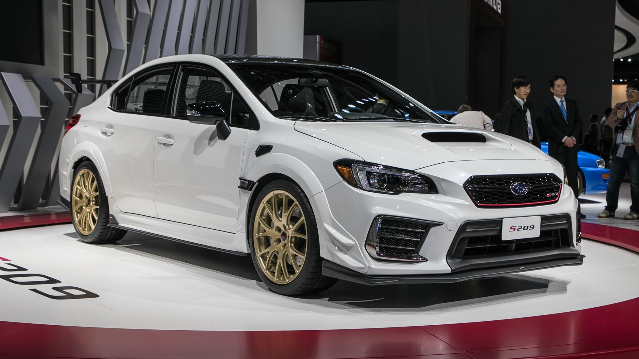 2019 Subaru Wrx Sti S209 341 Hp Exclusive To America Automobile