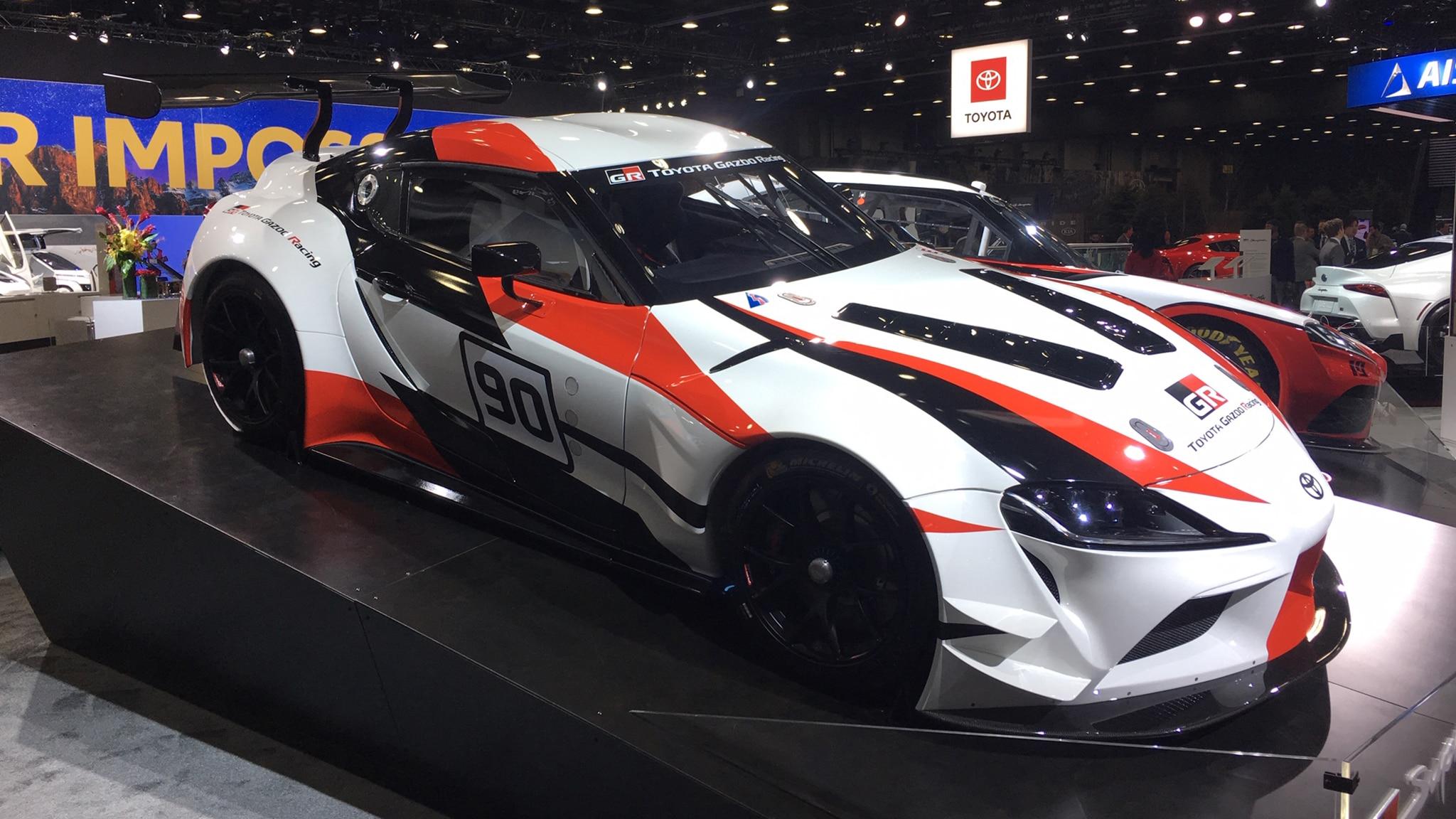 The Race Cars of the 2019 Detroit Auto Show | Automobile