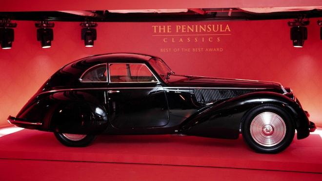 1937 Alfa Romeo 8c 2900b Berlinetta Side Vieiw