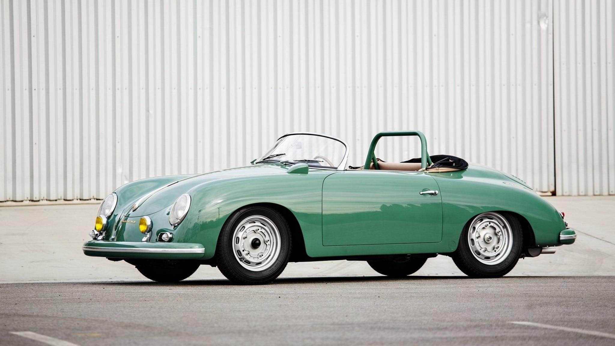 1958 Porsche 356 1500 Gsgt Carrera Speedster Side