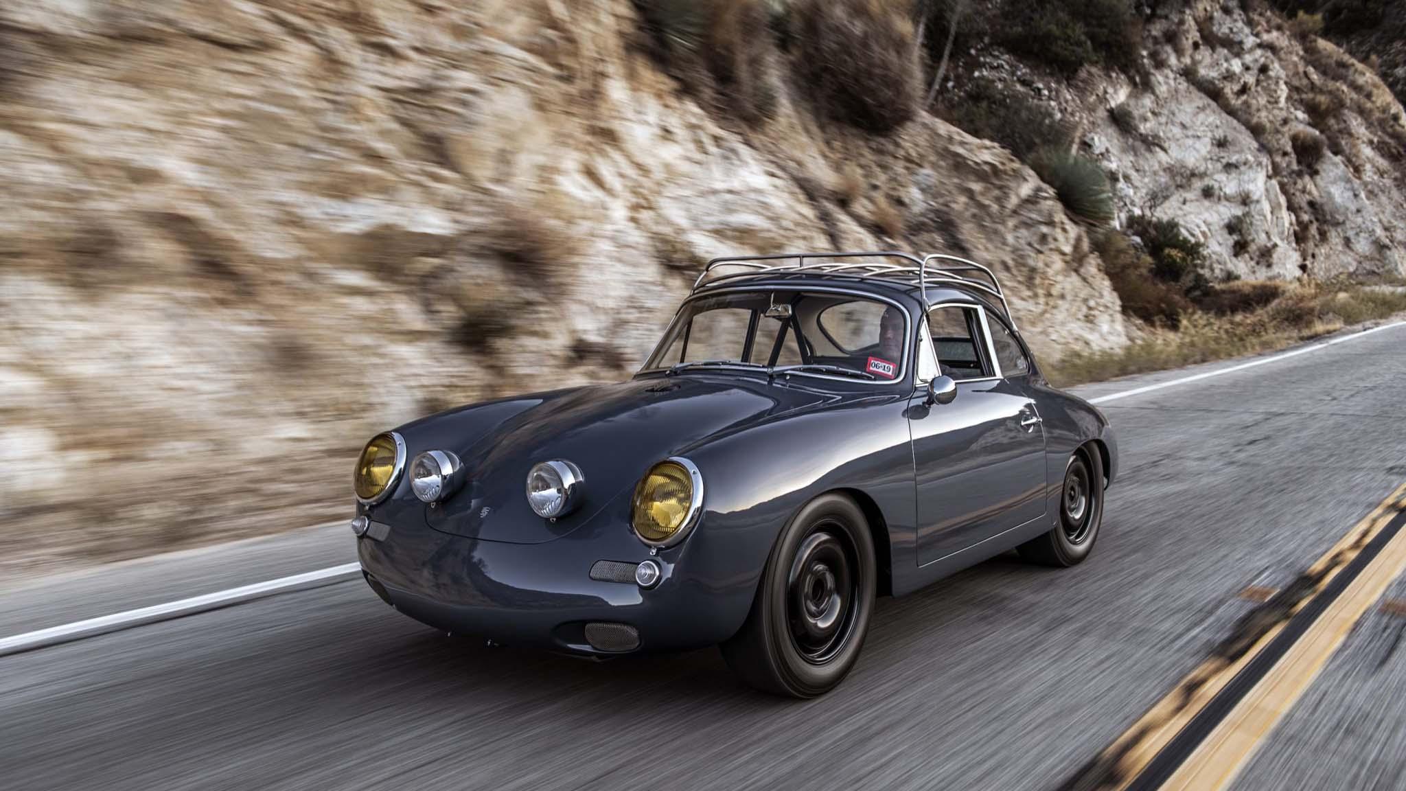1964 Porsche 356 C4s Front Three Quarter 1