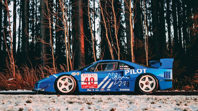 1987 Ferrari F40 LM_side