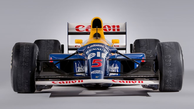 1992 Williams Renault Fw14b Front