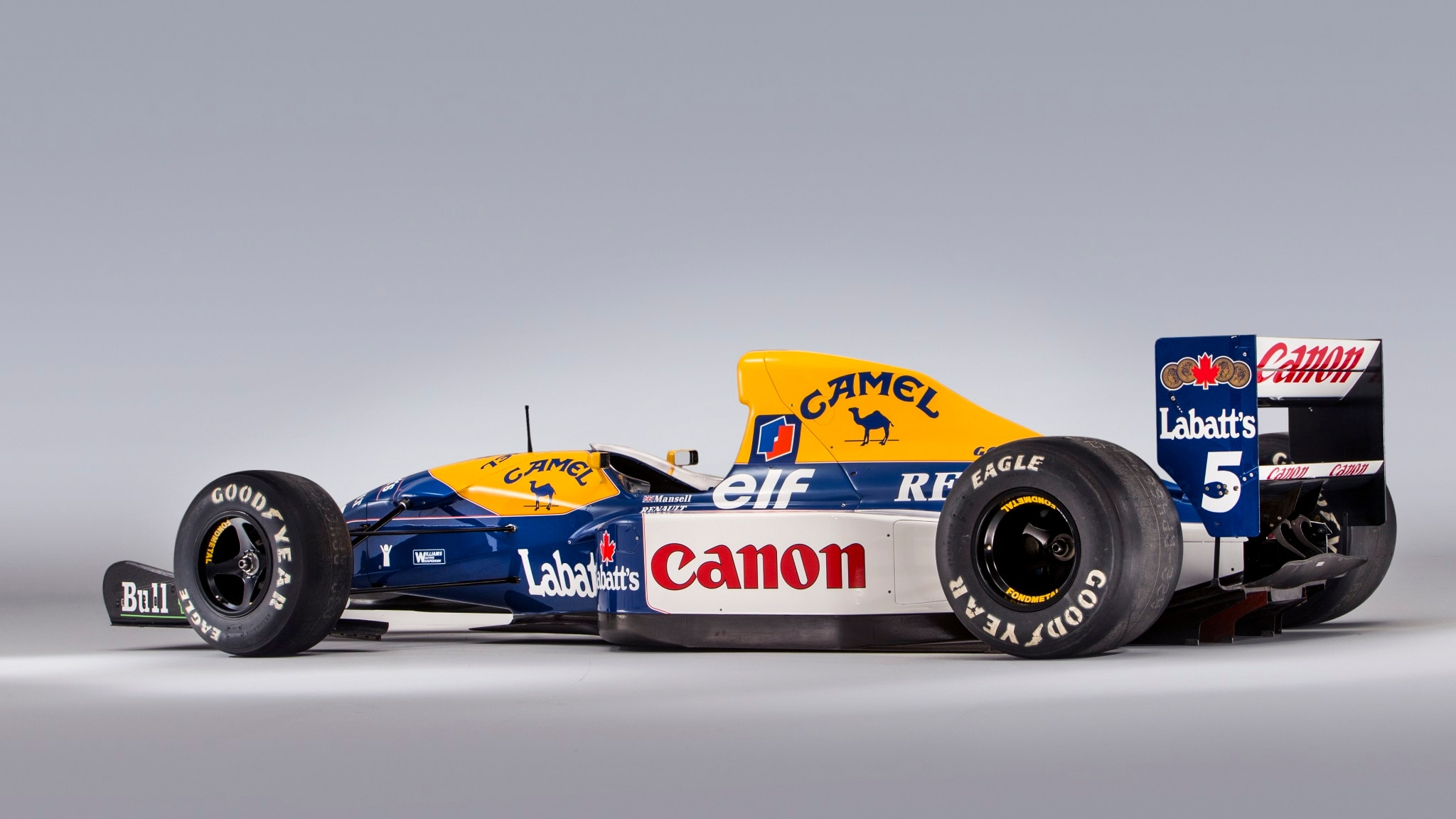 Williams FW14B from Mansell's title-winning season on sale at Goodwood