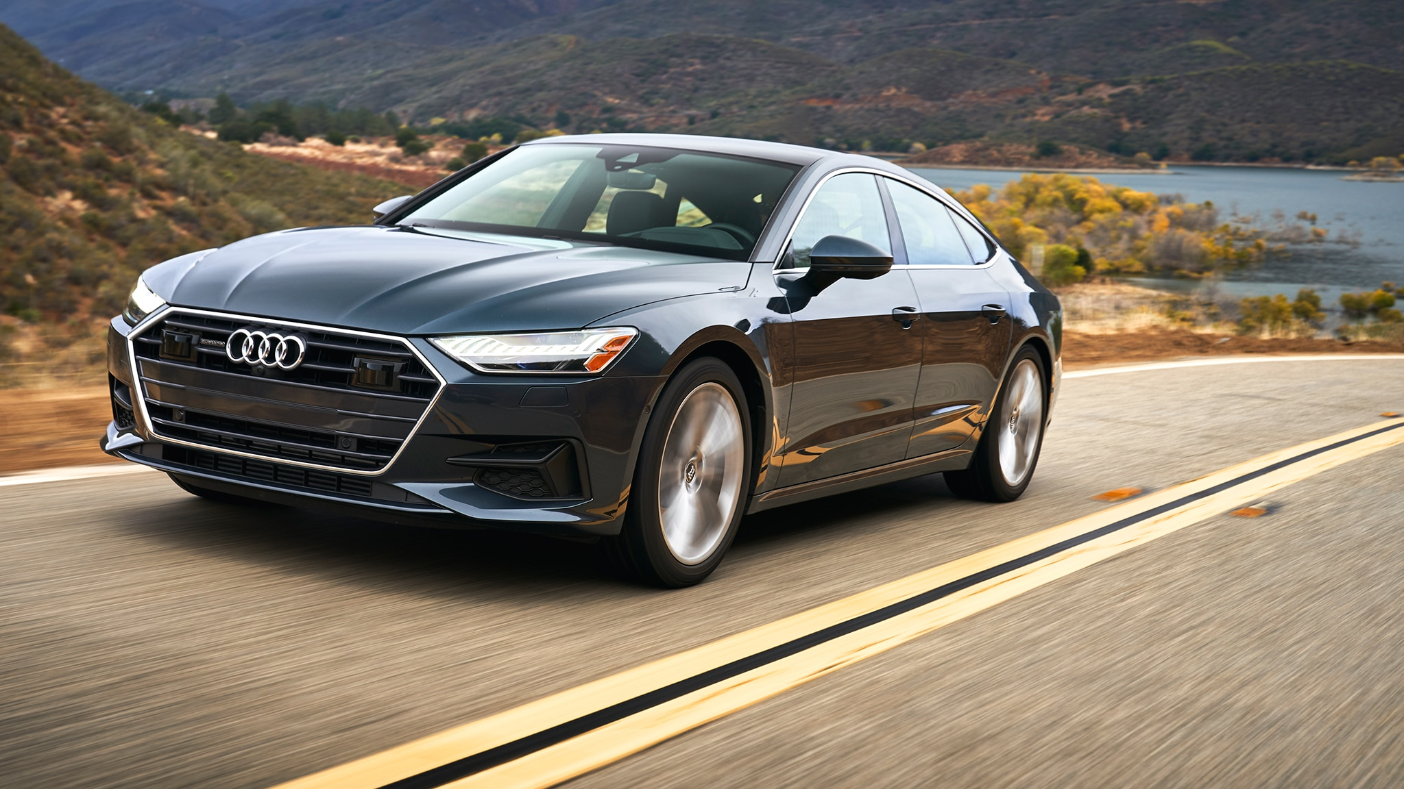 The 2019 Audi A7 Sportback Is Quiet, Placid, and Smooth   Automobile Magazine