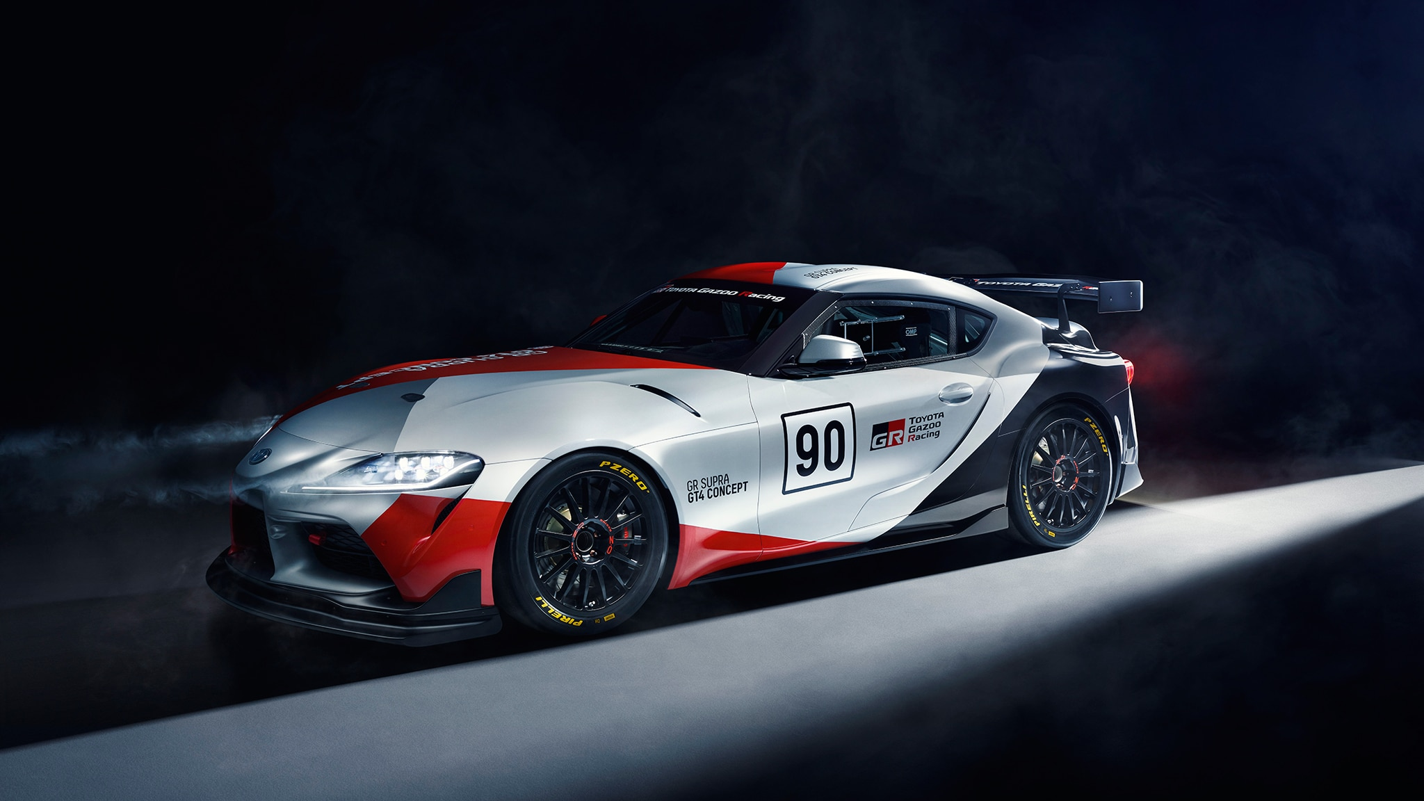 Toyota Supra Unveiled in Racing Guise