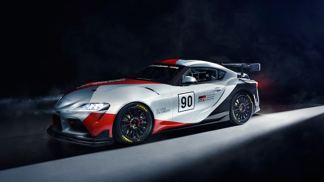 2019 GR Supra GT4 Concept 01