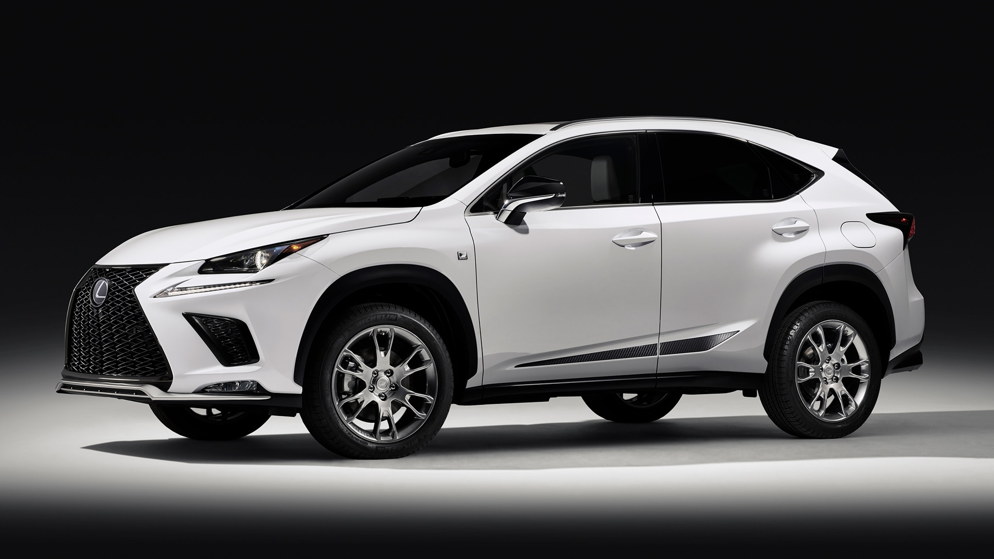 2019 Lexus NX F Sport Black Line: Also Available In White