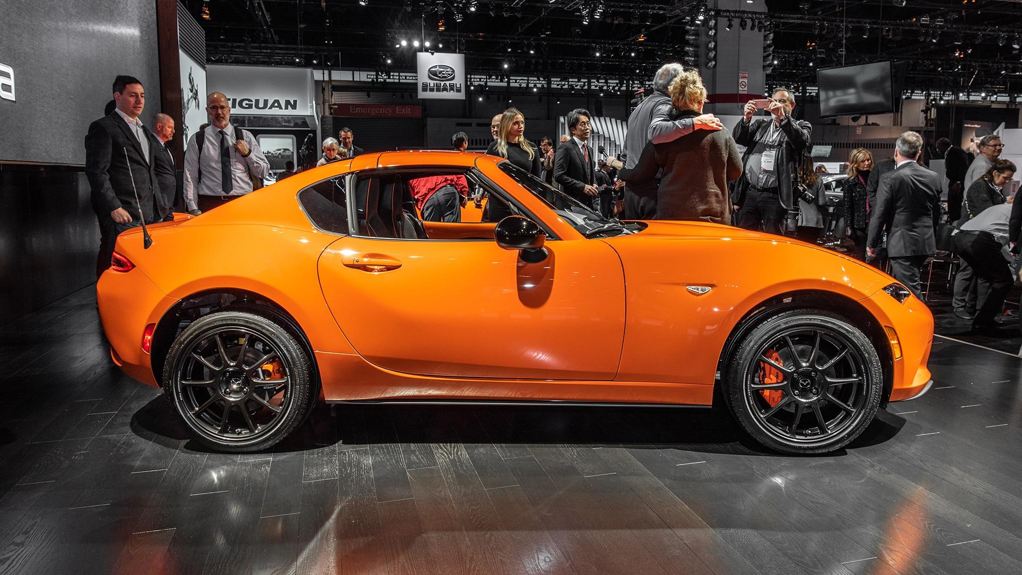 2019 Mazda MX-5 Miata 30th Anniversary: It's Orange and ...