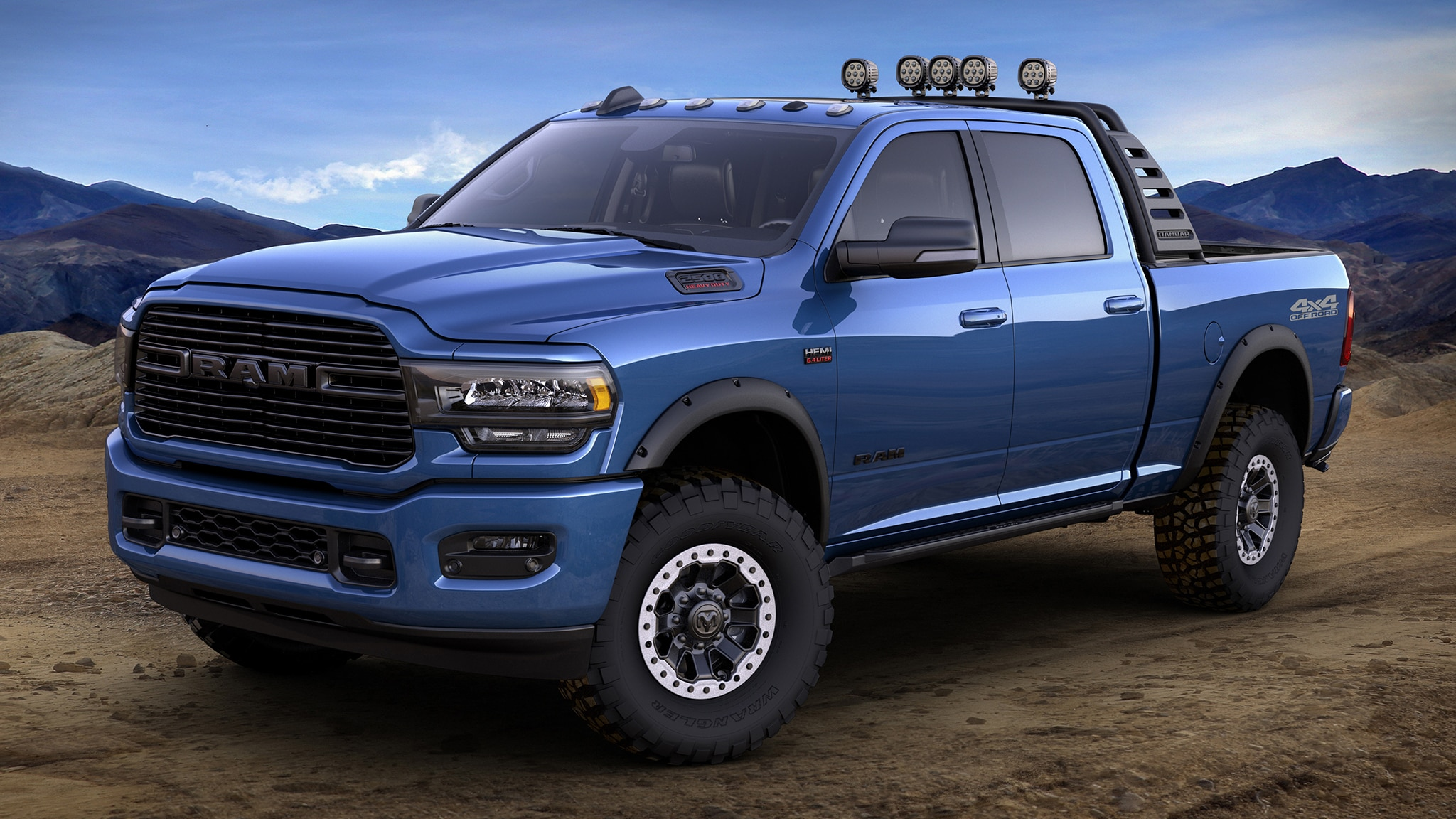 Mopar Has 170 Ways to Customize the New Ram HD ...