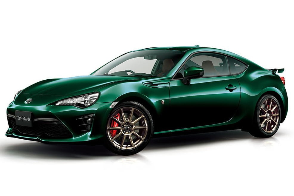 2019 Toyota 86 British Green Limited Edition Japan Spec_lead