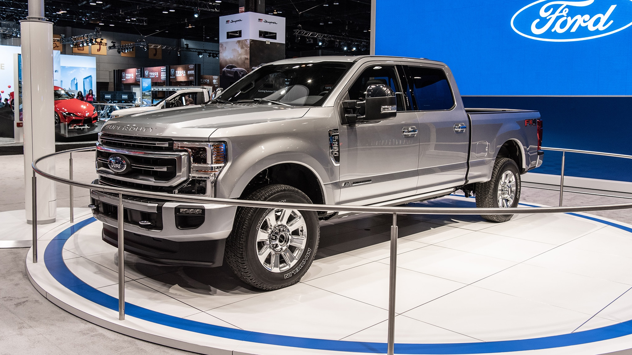 2020 Ford Super Duty At Chicago Auto Show 17