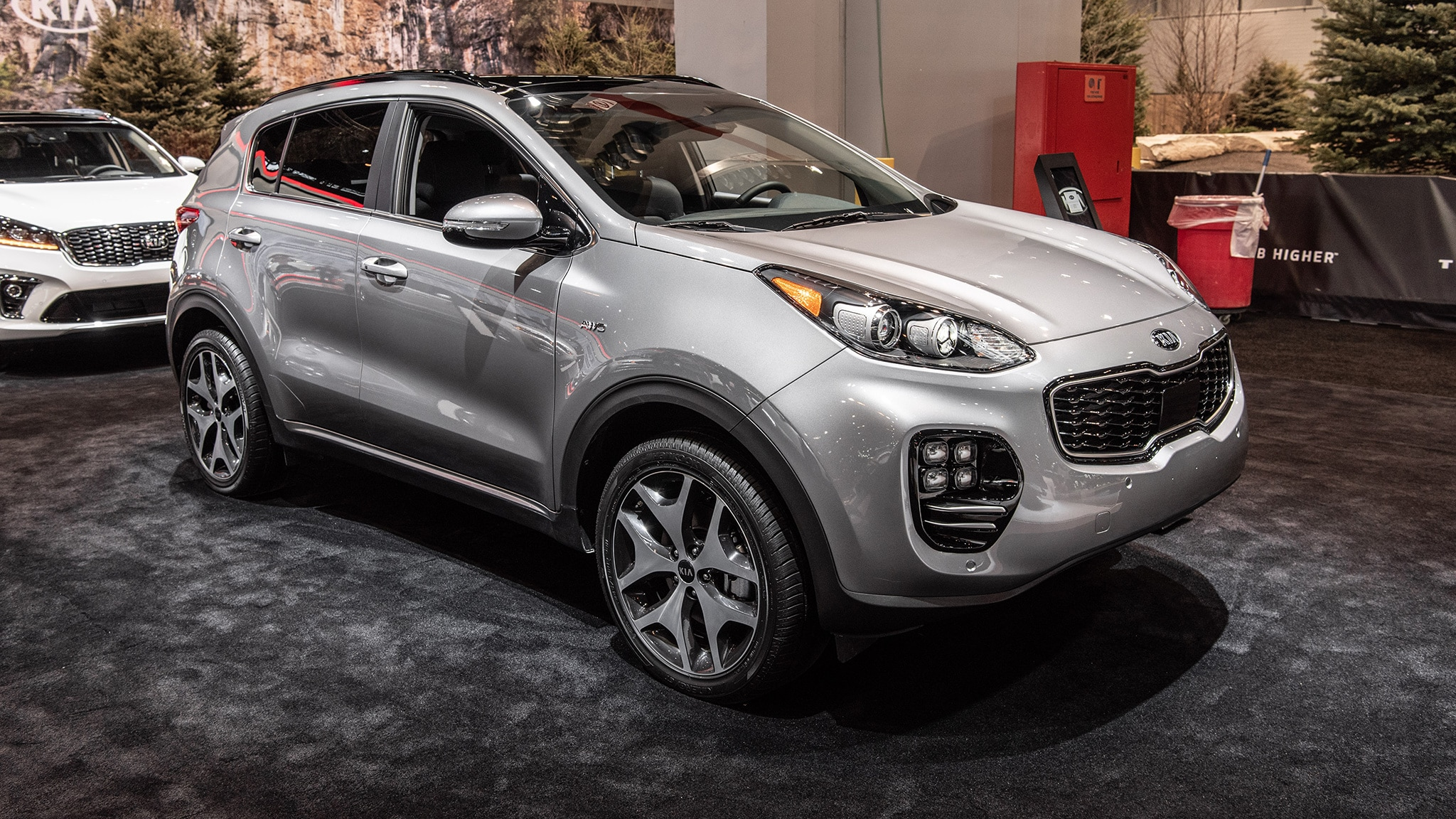 2020 Kia Sportage At Chicago Auto Show 01