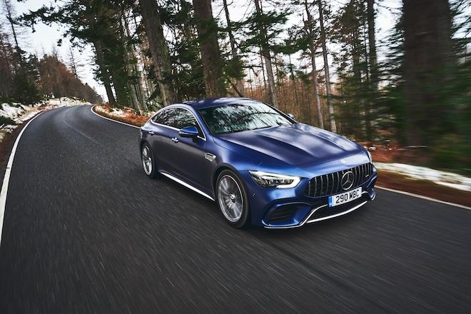 2020 Mercedes AMG GT63S 4 Door Brilliant Blue