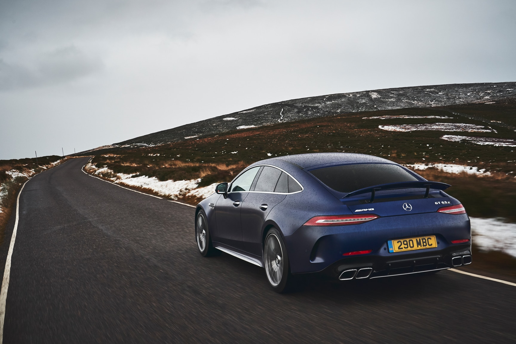 2019 Mercedes-AMG GT 4-Door Driven in Scotland: A Refined ...